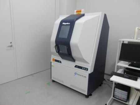 試料水平型強力X線回析装置.JPG