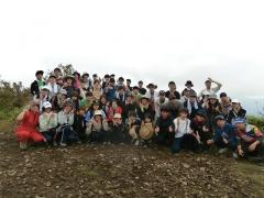 飯盛山での自然観察