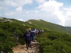 「山岳環境保全学演習」 フィールドワークの様子