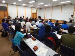 ゆりの木研修室での講評(9/9)