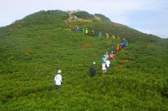 H30年度山岳環境保全学演習:将棊頭山登山