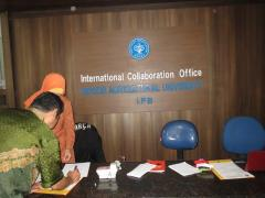 IPB国際交流センターを訪問