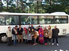 本プログラムに参加したバングラデシュ、タイ、インドネシアの学生たち