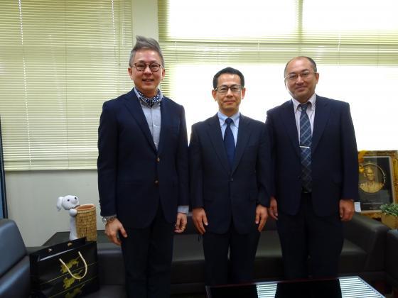 スラナリ工科大学とのダブルディグリー協定締結および日本学術振興会バンコク研究連絡センター等を表敬訪問しました