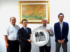 日本学術振興会バンコク研究連絡センター訪問の様子