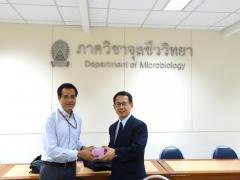 チュラロンコン大学Tanapat准教授と鏡味教授