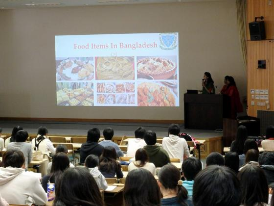 バングラデシュ農業大学とAutumn Short Course on Animal Science in Shinshu, 2016を実施しました