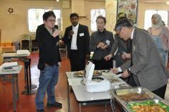 【懇親会】留学生の手作りの母国料理
