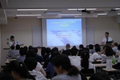 コース紹介・体験講義の様子