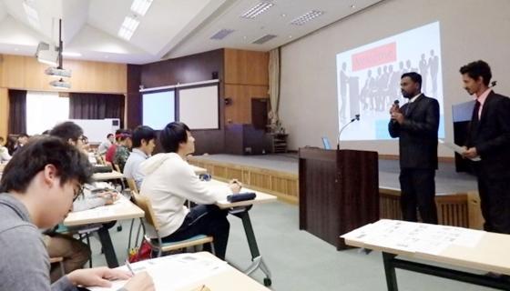 共同研究を想定したバングラデシュ農業大学学生の受入れと研究指導