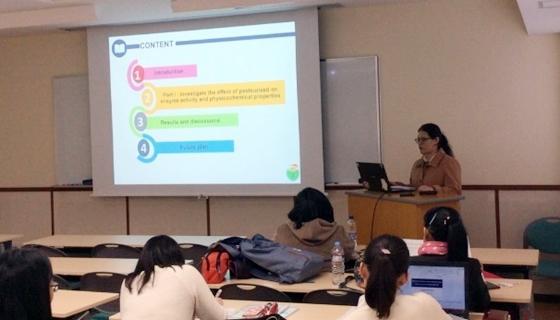 韓国セジョン大学、タイ国カセサート大学の教員・学生を迎えて国際セミナーを開催しました