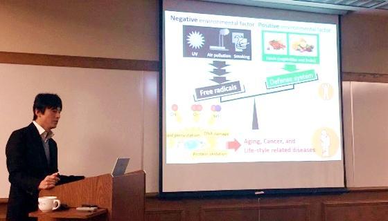 米国オハイオ大学を訪問し、研究セミナーに参加しました