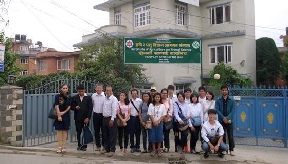 平成29年度海外農学実習「ネパール農業実習」を実施しました