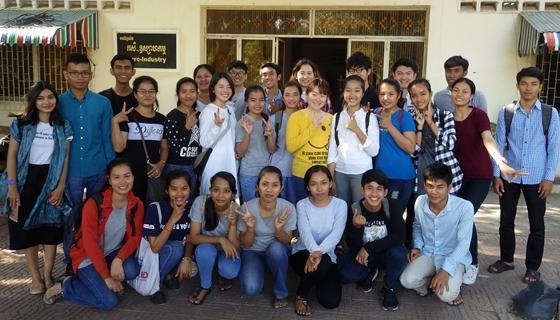 平成29年度海外農学実習「カンボジア農業・農村実習」を実施しました