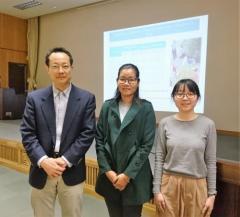 3名の演者(写真左から浜野講師、マット・レッケナ研究員、徳田さん)
