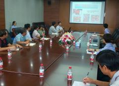 河北省農業科学院石家荘果樹研究所での学術交流の様子