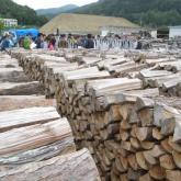 5月 林業施設の見学(薪販売会社)