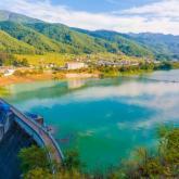 信州の四季部門優秀賞 小島知弥「水とともに生きる村ー美和ダムー」