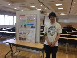 パネル展示(20150725オープンキャンパス)
