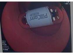 大腸カプセル内視鏡でのデモ
