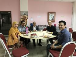 UniKL(BMI)での会食会