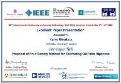 Excellent Paper Presentation