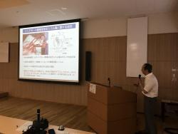 繊維学部の山口昌樹先生の特別講演