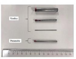磁気双安定素子開発へ向けたFeCoV磁性線