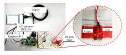1)フルーツバッテリー法による装置試作の一例