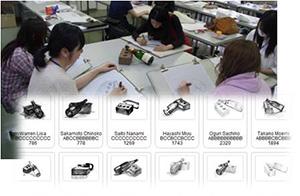 デジタル・ドローイング(デジタルペンを用いたドローイング)を自動解析し、アドバイスを生成[美術専門学校との連携研究]