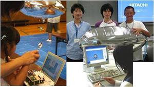 スプーンを叩いて飛行船をコントロール。Magical Spoonsは、情報通信の原理や仕組みを理解するための教材。全国で約20,000人が利用