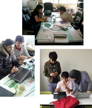 Studying the successes and failures of research work in groups, with men and women from various countries, helps students develop strong professional communication skills.