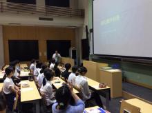 松本深志高校「信州大学医学部・附属病院見学会」を開催しました