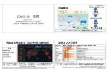 「松本深志高校COVID-19 オンライン講演会」を開催しました。