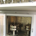 High pressure fluid exposure test system