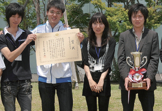 和田 誠也さん、山崎 慎平さん、加賀谷 有紀さん、日置 智也さん