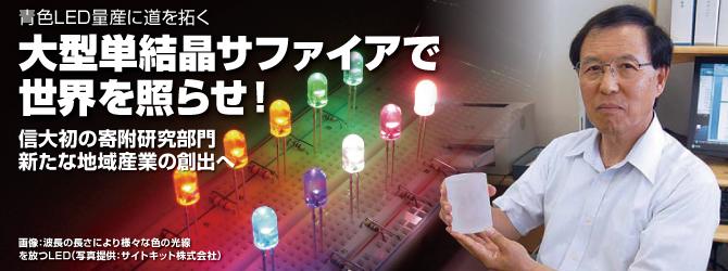 大型単結晶サファイアで世界を照らせ