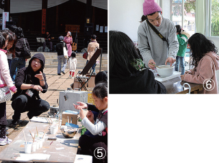 「境内アート小布施×苗市、 彫刻展カタチノマワリなど活動を拡げる