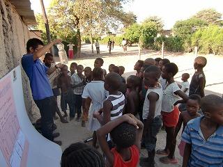 ナミビアの青空教室
