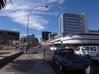 ナミビア共和国の首都ウイントフック