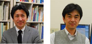 左:木村貞治教授 右:櫻井晃洋准教授
