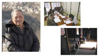 左:人文学部教授・副学長 笹本 正治