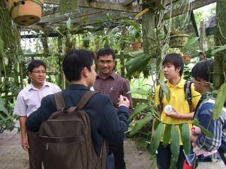 マレーシア環境教育研修の様子