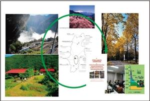 信州型エコビレッジのイメージ図