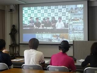 遠隔講義システムを利用した学生の交流