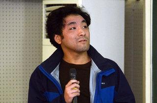 松澤 勇人さん( 理学部3年)