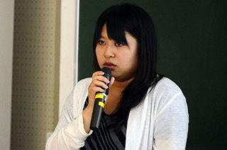 久保田 真未さん( 経済学部2年)