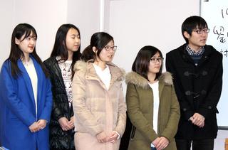 対外経済貿易大学の生徒