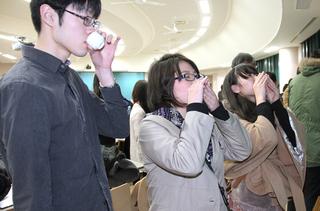 日本酒利き酒