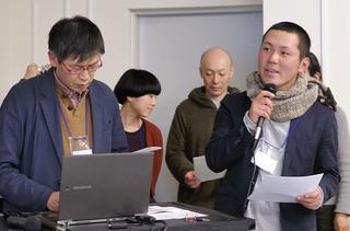 A班 對野進さん、大日方勲さん、 鈴木明子さん、横山健生さん、 宮木慧美さん